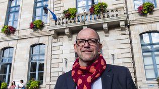 Hervé Guihard, maire de Saint-Brieuc, en juin 2020. (PHILIPPE RENAULT / MAXPPP)