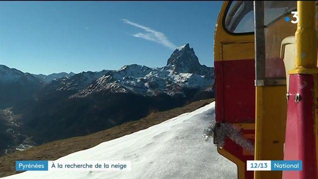 Pyrénées : en attendant la neige
