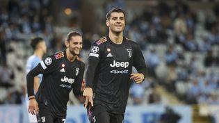 Alvaro Morata buteur avec la Juventus Turin (ANDREAS HILLERGREN/TT / TT NEWS AGENCY)