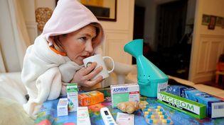 L'épidémie de grippe a déjà touché plus de 2,5 millions de personnes cet hiver. (  MAXPPP)