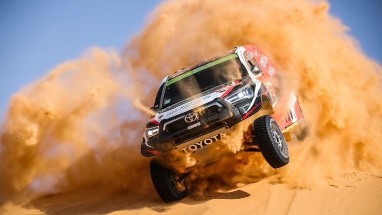 Deuxième victoire pour le Saoudien Yazeed Al Rahji sur le Dakar (JULIEN DELFOSSE / DPPI MEDIA)
