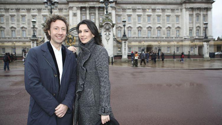 Stéphane Bern et Marie Drucker commenteront la cérémonie vendredi en direct de Londres (FTV - Charlotte Schousboe)