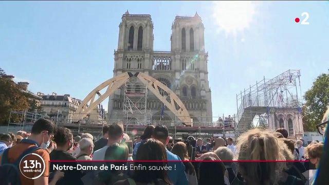 Cathédrale Notre-Dame : le chantier de sécurisation du monument est terminé