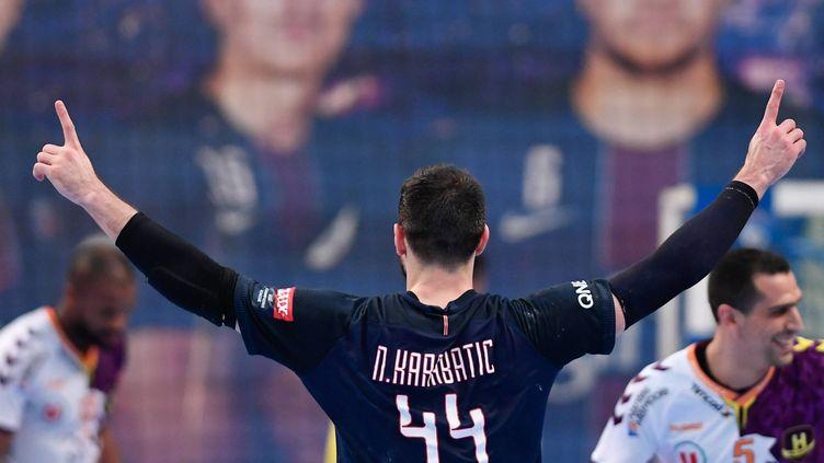 Nikola Karabatic et le PSG tout proche d'un nouveau titre de champion de France (FRANCK DUBRAY / MAXPPP)