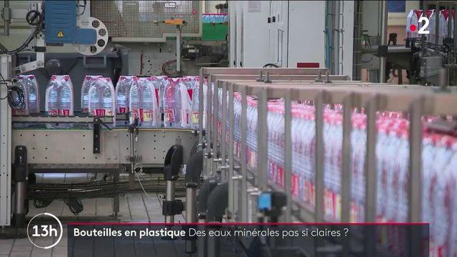 Consommation : des résidus de plastique dans les eaux minérales ?