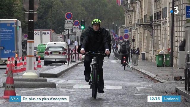 Vélo : des adeptes toujours plus nombreux au quotidien