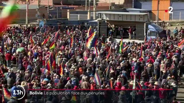 Bolivie : la population victime de pénuries dans tout le pays