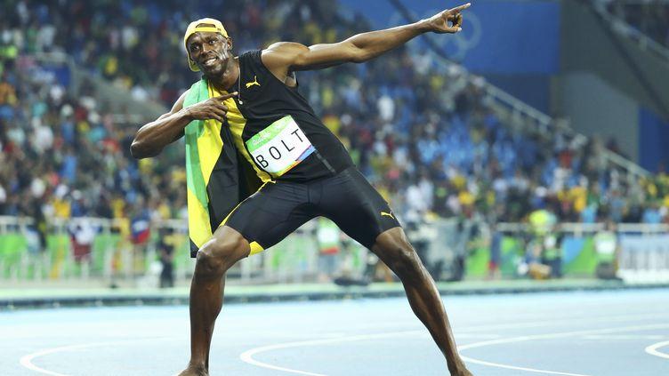 Intouchable, le Jamaïcain Usain Bolt est bien le plus grand ! (? LUCY NICHOLSON / REUTERS / X90050)