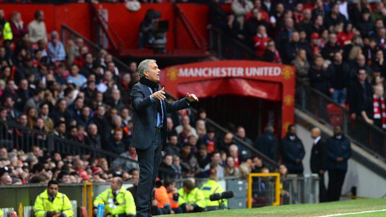 L'entraîneur portugais José Mourinho (PAUL ELLIS / AFP)