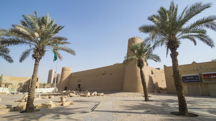 Le fort Masmak, à Riyad (Arabie saoudite), le 15 février 2018. (MICHAEL RUNKEL / ROBERT HARDING PREMIUM / AFP)