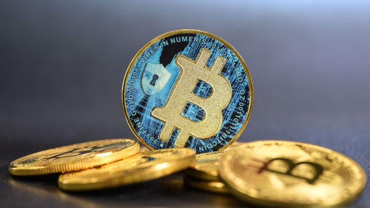 Illustration bitcoin. (JEAN-LUC FLEMAL / MAXPPP)