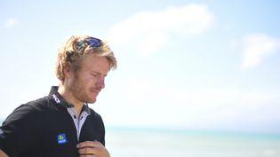 Le navigateur français François Gabart (LOIC VENANCE / AFP)