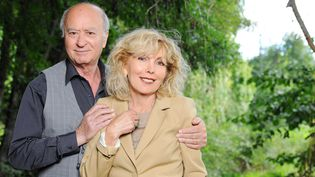Georges et Maryse Wolinski en 2011  (BALTEL/SIPA)