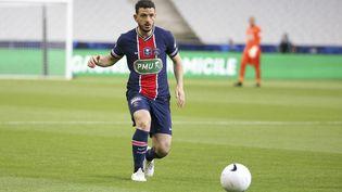 Alessandro Florenzilors de la finale de la Coupe de France contre Monaco, le 19 mai 2021. (JEAN CATUFFE / DPPI via AFP)