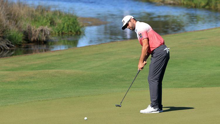 Le Canadien Corey Connerspointe en tête duChampionnat PGA en Caroline du Sud, après le premier tour jeudi 20 mai 2021. (SAM GREENWOOD / GETTY IMAGES NORTH AMERICA)