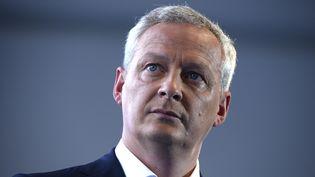 Bruno Le Maire, candidat à la primaire de la droite, à Jouy-en-Josas (Yvelines) lors de l'université d'été de 31 août 2016. (ERIC PIERMONT / AFP)