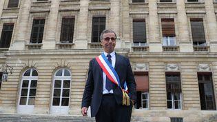 Pierre Hurmic, maire EELV de Bordeaux, le 3 juillet 2020. (FABIEN COTTEREAU / MAXPPP)