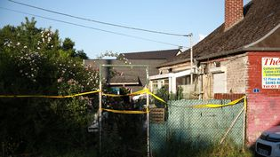 Le corps du petit Tom, 9 ans, a été retrouvé dans cette maison, au Hérie-la-Viéville (Aisne), le 28 mai 2018. (LP/OLIVIER ARANDEL / MAXPPP)