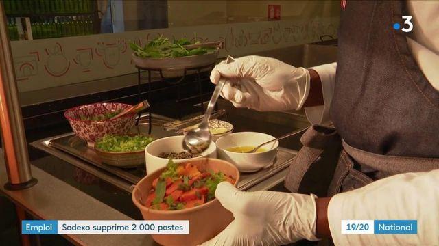 En crise, Sodexo annonce la suppression de 2 083 postes en France