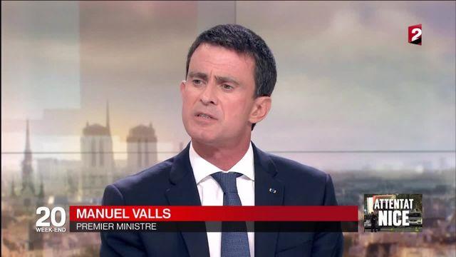 """Attentat de Nice """"Nous gagnerons cette guerre"""""""