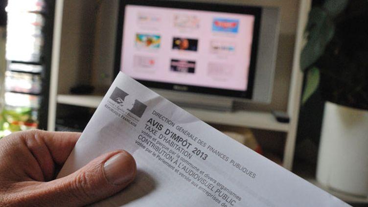 (François Hollande s'est montré favorable à un élargissement de la redevance aux possesseurs d'ordinateurs, de tablettes ou de smartphones. © Bruno LEVESQUE / IP3)