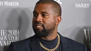 Le rappeur Kanye West au Museum of Modern Art, à New York, le 6 novembre 2019. (ANGELA WEISS / AFP)