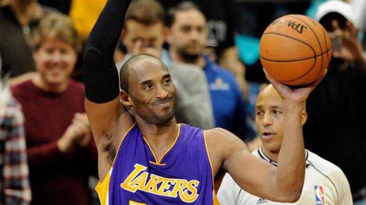 Kobe Bryant (Los Angeles Lakers) est devenu le 3e meilleur marqueur de l'histoire NBA (HANNAH FOSLIEN / GETTY IMAGES NORTH AMERICA)