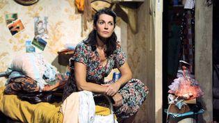 """Zabou Breitman dans le filage de """"La Compagnie des spectres"""" au théâtre de la Gaîté Montparnasse (octobre 2012)  (Raymond Delalande / SIPA)"""