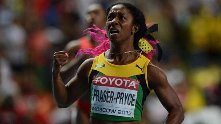 La Jamaïquaine Shelly-Ann Fraser -Pryce