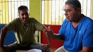 Pascal Fauret et Bruno Odos, les deux pilotes français suspectés de trafic de drogue, en 2014,en République Dominicaine. ( FRANCE 2 / FRANCETV INFO)