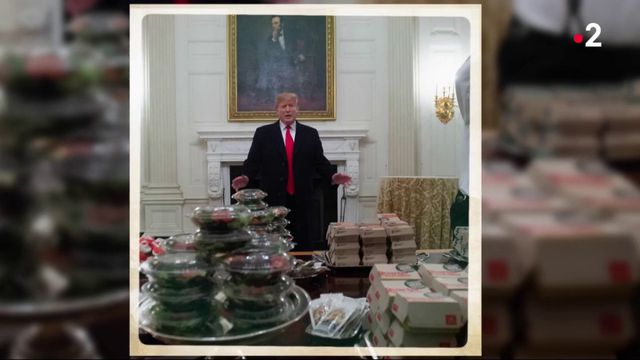 Photo Hebdo : Trump et son buffet Mc Donald's