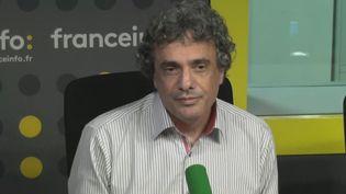 Yves Weisselberger, fondateur de Snapcar, le 1er novembre 2016 à la Maison de la Radio. (FRANCEINFO)