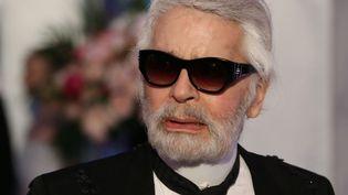 Le couturier Karl Lagerfeld à Monaco en mars 2018.  (Valery Hache / AFP)