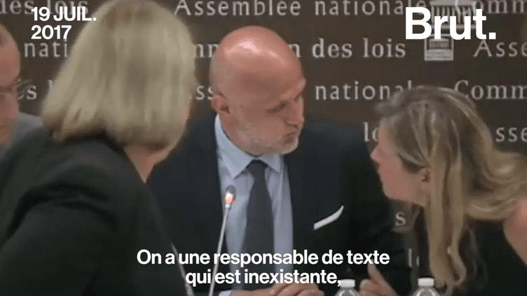 Une députée LREM croit son micro éteint et fustige ses collègues (Brut)