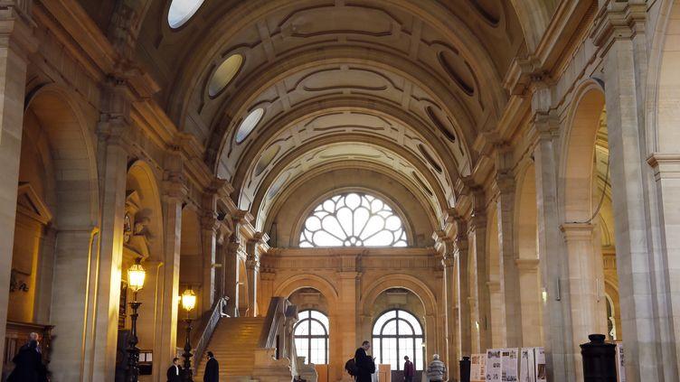 Le palais de justice de Paris, le 16 février 2015. (LOIC VENANCE / AFP)