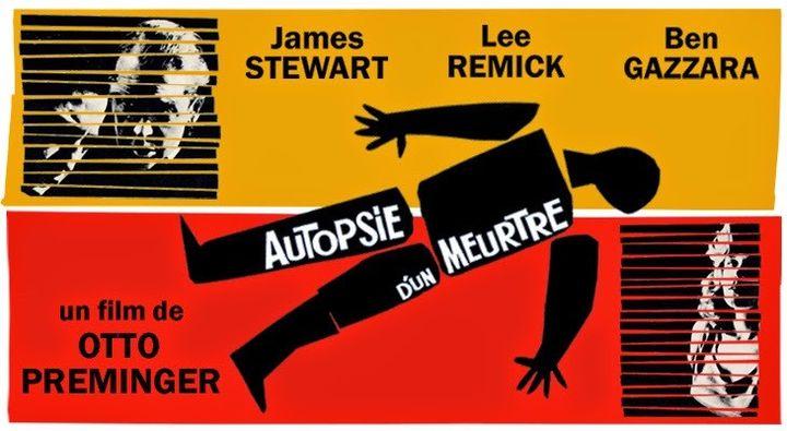 """L'affiche de """"Autopsie d'un meurtre"""" de Otto preminger (1959). (Park Circus France)"""
