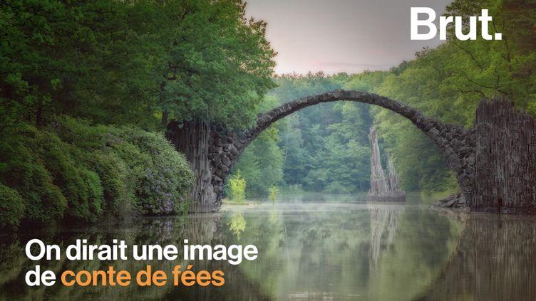 VIDEO. L'un des ponts les plus célèbres au monde se trouve… En Allemagne (BRUT)