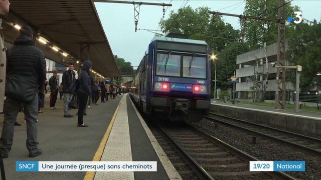 SNCF : une journée (presque) sans cheminots