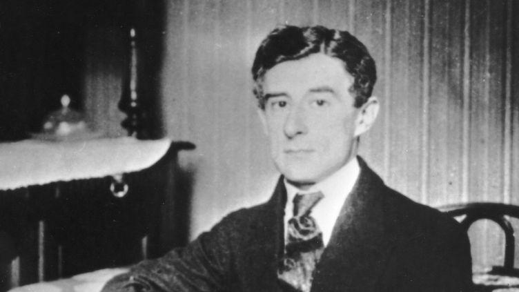 Maurice Ravel photographié en 1910.  (Manuel Cohen / MCOHEN)
