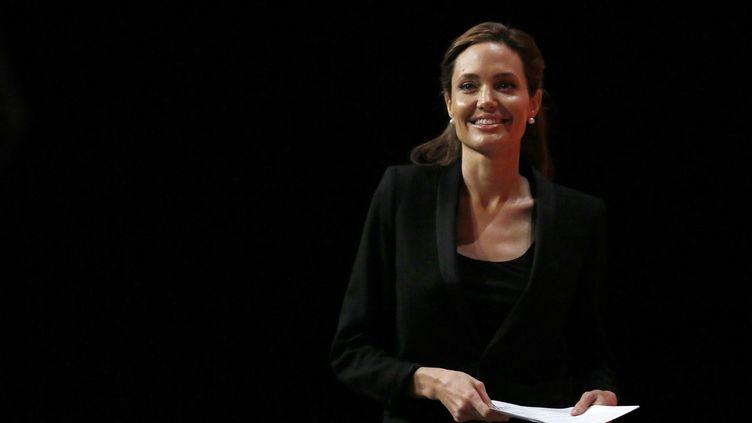 L'actrice Angelina Jolie, le 12 juin 2014 à Londres (Royaume-Uni). (LUKE MACGREGOR / REUTERS)