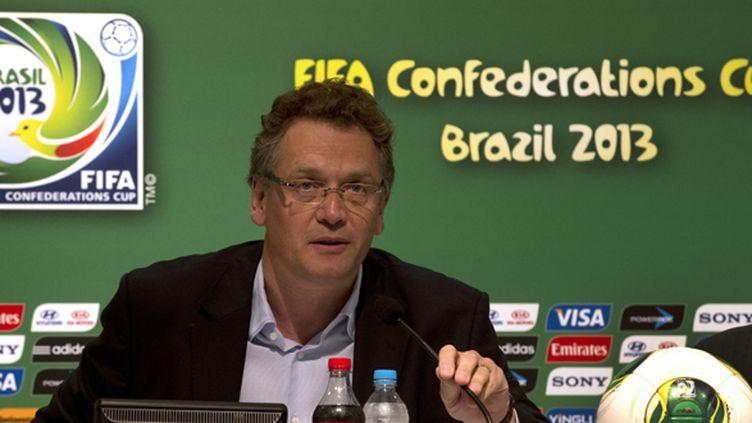 Jérôme Valcke (PABLO PORCIUNCULA / AFP)