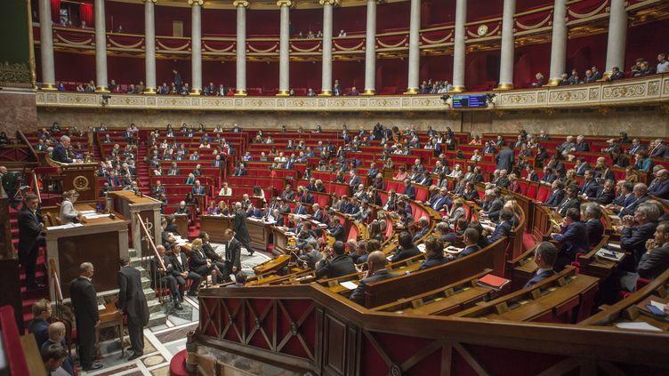 Les députés siègent pour une séance de questions au gouvernement, le 12 décembre 2017 à Paris. (STÉPHANE ROUPPERT / CITIZENSIDE / AFP)