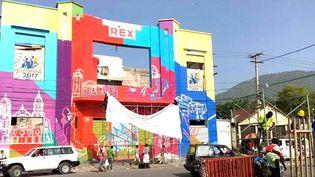 Le cinéma Rex à Port au Prince (Haïti), lieu du Festival Nouvelles Vues (2017)  (Festival Nouvelles Vues, Haiti)