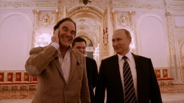 """Extrait """"Conversations avec M. Poutine"""" réalisé par Oliver Stone"""