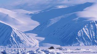Un camp de chasse inuit dans la baie de Baffin (18 Janvier 2019). (MEDIADRUMIMAGES / RICHARD SALE & PER MICHELSEN / MAXPPP)
