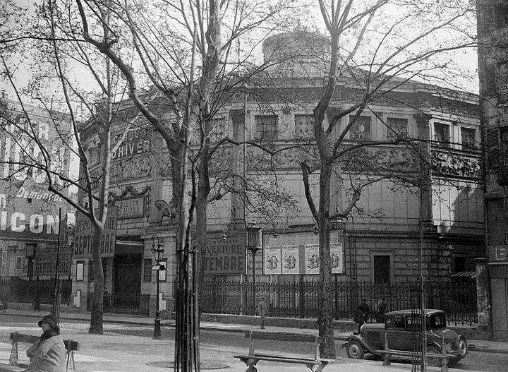 Le Cirque d'Hiver à Paris, le 1er mai 1931. (GAMMA-KEYSTONE VIA GETTY IMAGES)