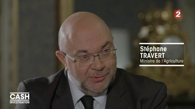 """VIDEO. Cash Investigation. """"Lactalis est au-dessus des lois"""", affirme le ministre de l'Agriculture dans """"Cash Investigation"""""""