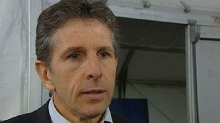 Claude Puel, l'entraîneur de l'OL