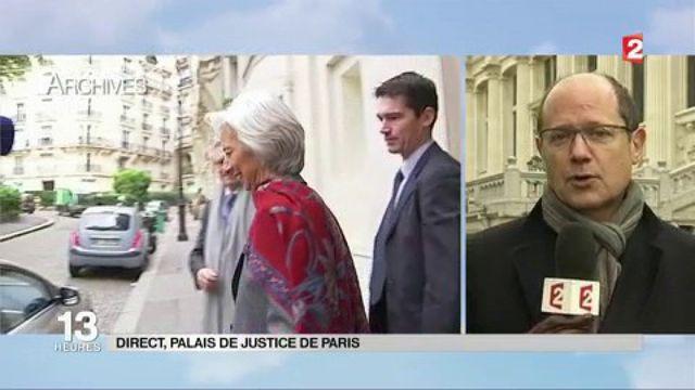 Affaire Tapie : Christine Lagarde devant la justice