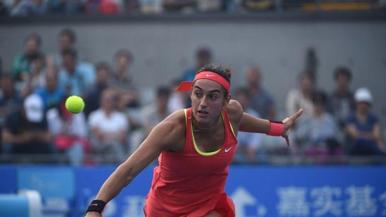 La Française Caroline Garcia (WANG ZHAO / AFP)